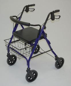 4 wheel lightweight walker