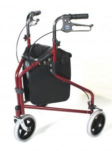 3 wheel mobility walker